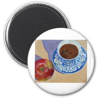 Apple Tea Refrigerator Magnets