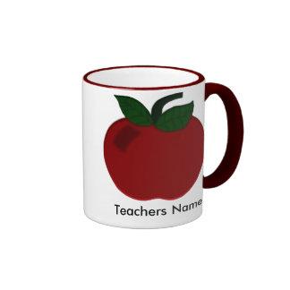 Apple Teacher Collection Coffee Mugs