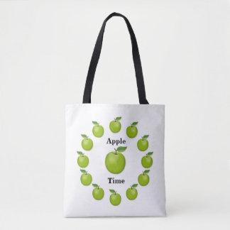 Apple Time, Granny Smith Tote Bag