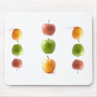 Apple Time Mouse Pads