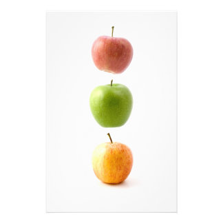 Apple Time Personalized Stationery
