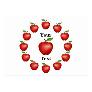 Apple Time, Red Delicious Pack Of Chubby Business Cards