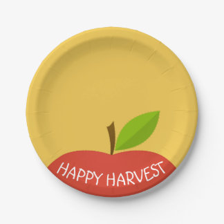 Apple Top Paper Plate