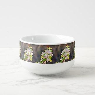Apple Tree Blossoms Soup Mug