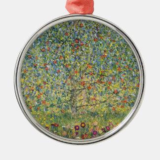 Apple Tree by Gustav Klimt, Vintage Art Nouveau Christmas Ornament