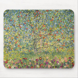 Apple Tree by Gustav Klimt, Vintage Art Nouveau Mouse Mat