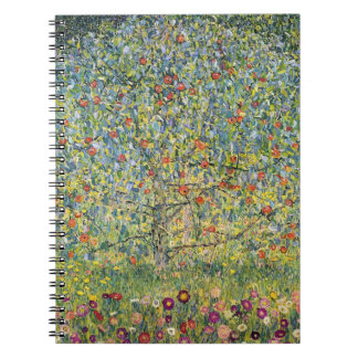 Apple Tree by Gustav Klimt, Vintage Art Nouveau Notebook