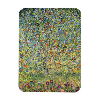 Apple Tree by Gustav Klimt, Vintage Art Nouveau Rectangular Photo Magnet