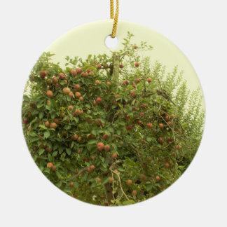 Apple Tree Christmas Ornament