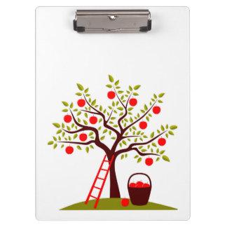 Apple Tree Clipboard
