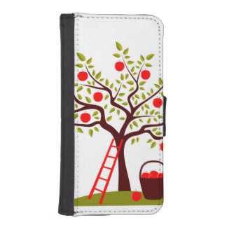 Apple Tree iPhone SE/5/5s Wallet Case