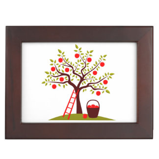 Apple Tree Keepsake Box