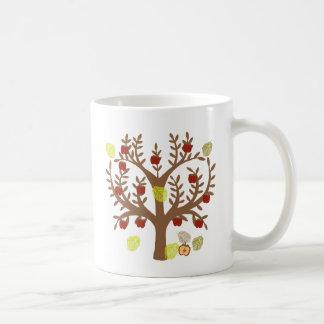 Apple Tree Classic White Coffee Mug
