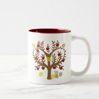 Apple Tree Two-Tone Coffee Mug