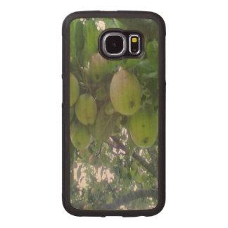 apple tree photo wood phone case