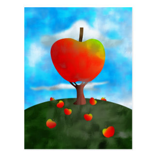 Apple Tree Postcard