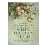 Apple tree rustic wedding invitations