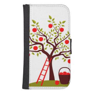 Apple Tree Samsung S4 Wallet Case