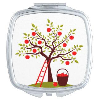 Apple Tree Travel Mirror