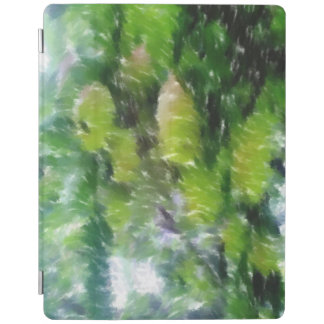 Apple tree with apples iPad cover
