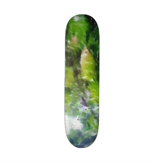 Apple tree with apples 20 cm skateboard deck