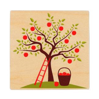 Apple Tree Wood Coaster