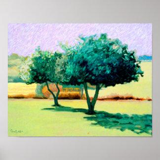 'Apple Trees For Minnie' 2008 Print