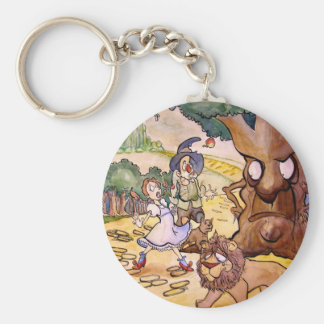 Apple Trees Key Ring