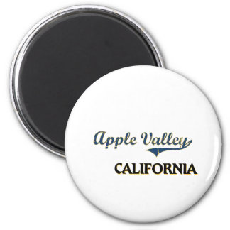 Apple Valley California City Classic 6 Cm Round Magnet