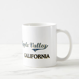 Apple Valley California City Classic Basic White Mug