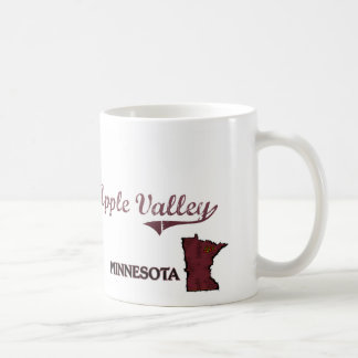 Apple Valley Minnesota City Classic Basic White Mug