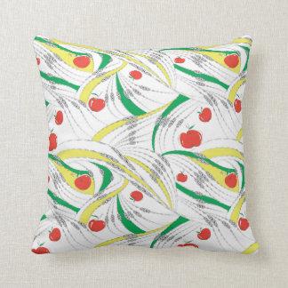 Apple wave cushion - Green