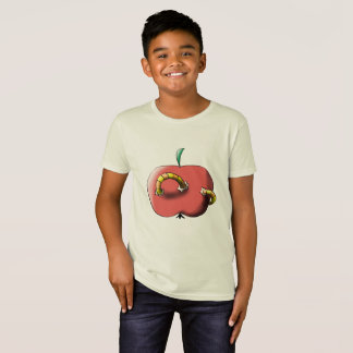 Apple with worm T-Shirt