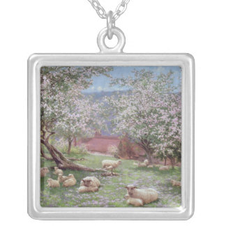 Appleblossom Silver Plated Necklace