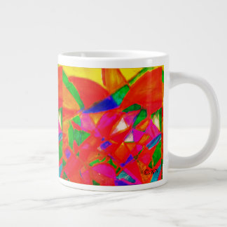 Appleflower Large Coffee Mug