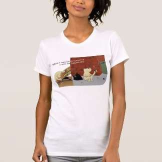 AppleholicCrackberry Light Colors Narrow Image T-shirts