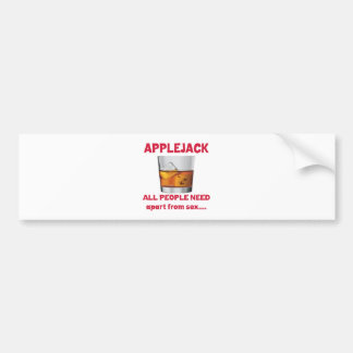 Applejack all people need apart from ..... bumper stickers