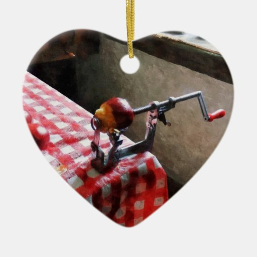 Apples and Apple Peeler Ornament