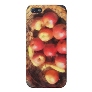 Apples and Bananas in Basket Case For iPhone 5