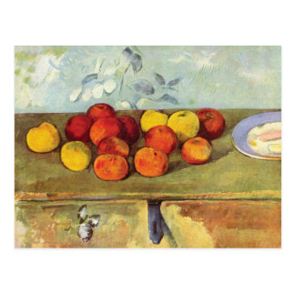 Apples and Biscuits by Paul Cézanne Post Cards
