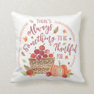 Apples and Gingham Cushion