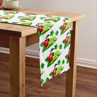Apples and Grapes Long Table Runner