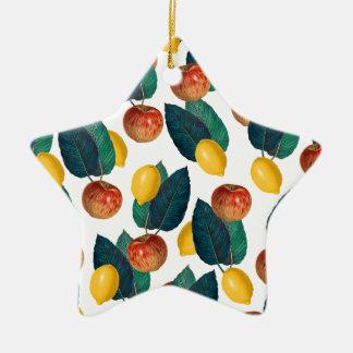 Apples And Lemons Christmas Ornament