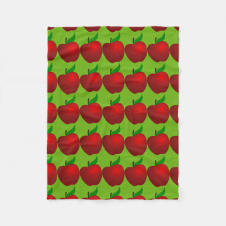 Apples and More Apples Fleece Blanket