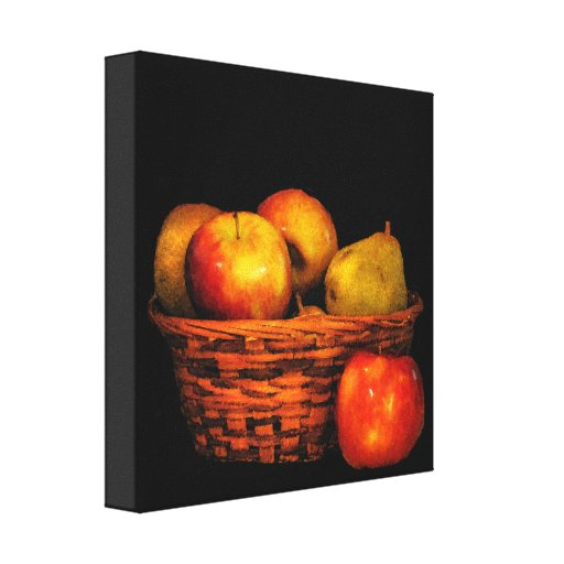 Apples and Pears Gallery Wrap Canvas