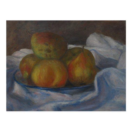 Apples and Pears - Pierre-Auguste Renoir Postcard