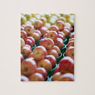 Apples at a market stall jigsaw puzzle