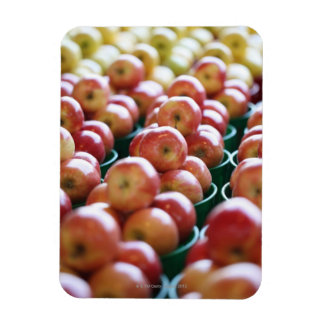 Apples at a market stall magnet