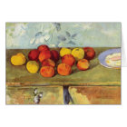 Apples & Biscuits by Paul Cezanne Note Card