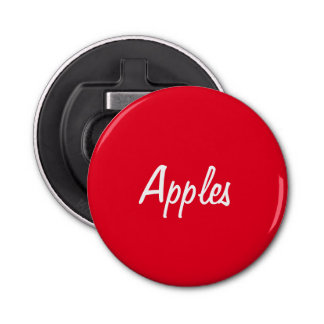 Apples Bottle Opener